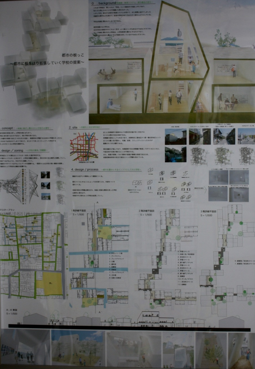 都市の根っこ〜都市に根を張り拡張して行く小学校の提案〜
