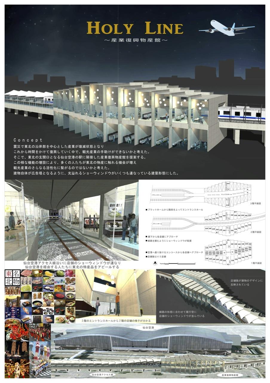 HOLY LINE 〜産業復興物産館〜