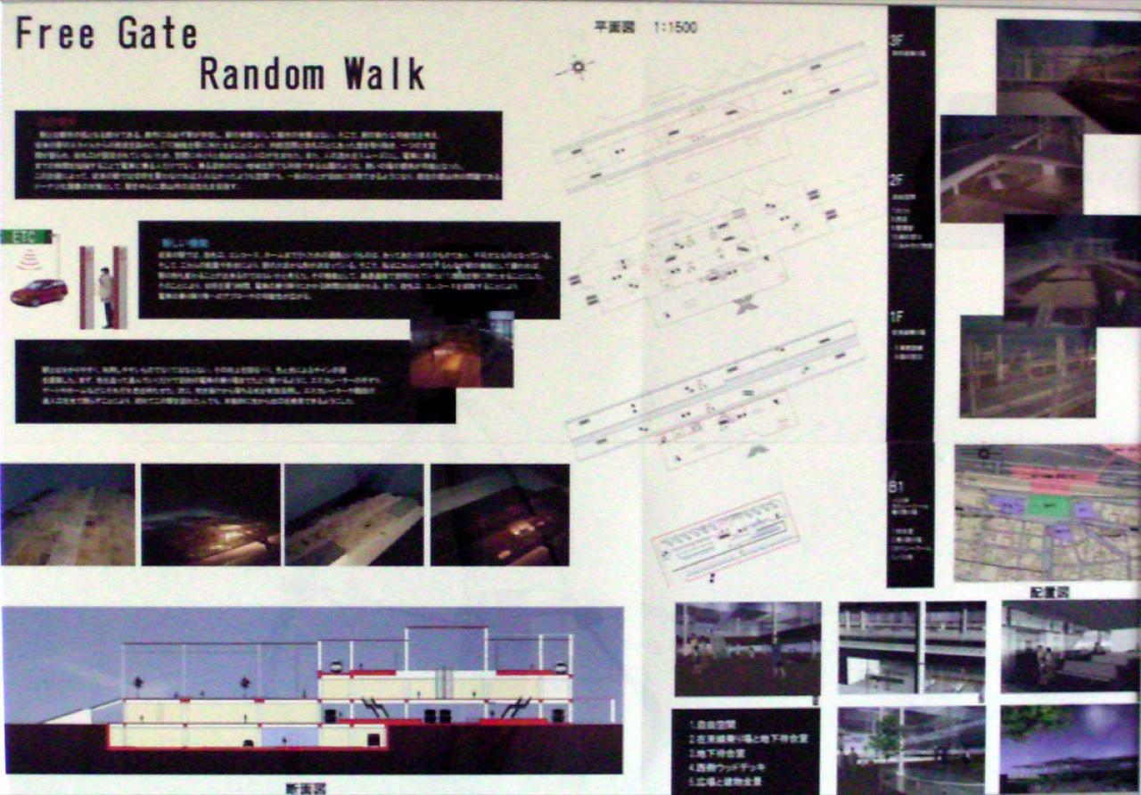 Free Gate Random Walk