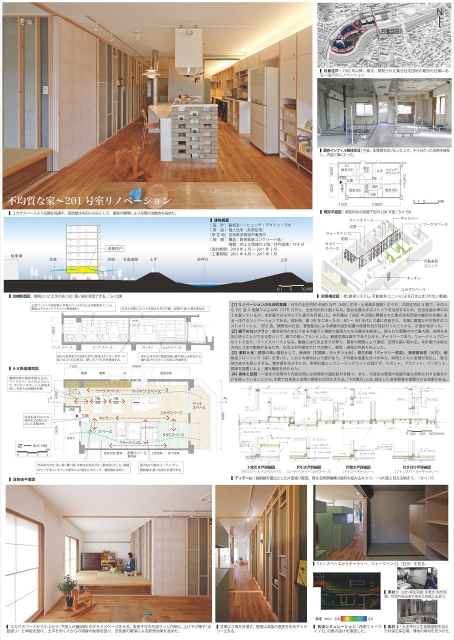不均質な家〜201号室リノベーション
